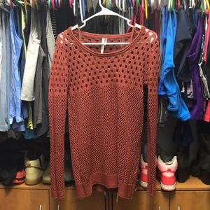 Sweater with under tank